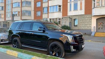 Аренда автомобиля Cadillac Escalade IV с водителем 5