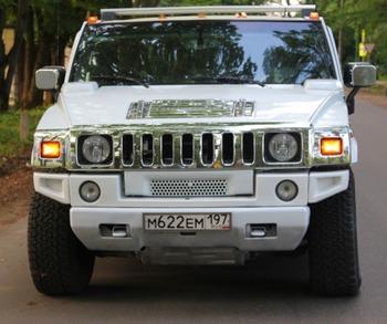 Аренда автомобиля Hummer H2  с водителем 1