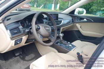 Аренда автомобиля Audi A6   с водителем 2
