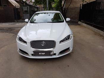 Аренда автомобиля Jaguar XF с водителем 1