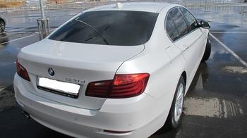 Аренда автомобиля BMW-525  с водителем 4
