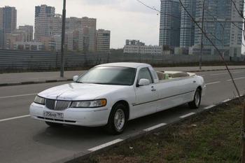 Аренда автомобиля Лимузин Lincoln Town Car  с водителем 1
