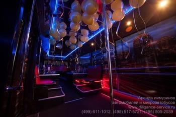 Аренда автомобиля Night Party Bus  с водителем 10