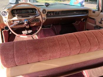 Аренда автомобиля Cadillac  Эльдорадо-59 с водителем 5