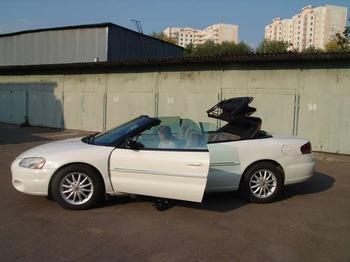 Аренда автомобиля Chrysler Sebring Cabrio белый  с водителем 3