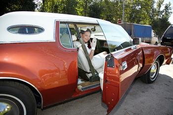Аренда автомобиля   Lincoln Mark IV купе с водителем 5