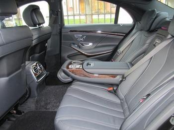 Аренда автомобиля Mercedes S 222 long  с водителем 3