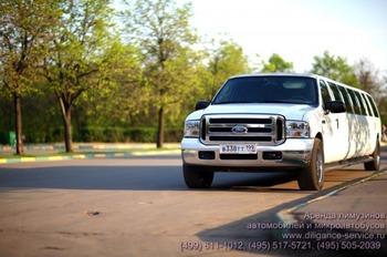 Аренда автомобиля Ford Excursion  с водителем 4