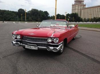 Аренда автомобиля Cadillac Eldorado-59 с водителем