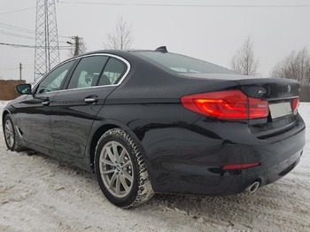 Аренда автомобиля BMW 520 с водителем 6