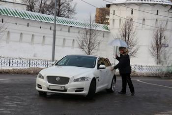 Аренда автомобиля Jaguar XJ  с водителем 2