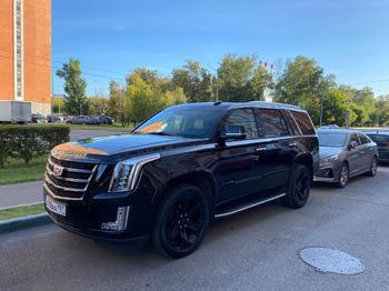 Аренда автомобиля Cadillac Escalade IV с водителем