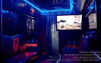 Аренда автомобиля Night Party Bus  с водителем 6