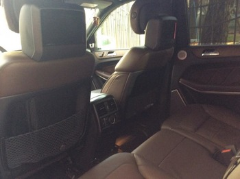 Аренда автомобиля Mercedes GL 500  с водителем 1