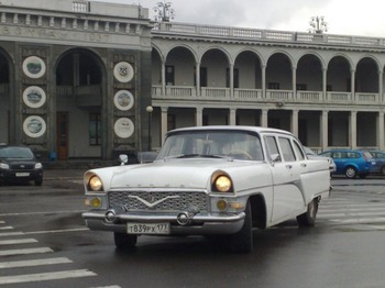 Аренда автомобиля Газ 13А с водителем 3