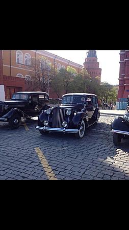 Аренда автомобиля Packard Twelve  с водителем 0