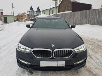 Аренда автомобиля BMW 520 с водителем 4