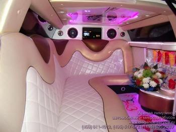 Аренда автомобиля Chrysler 300C  с водителем 5