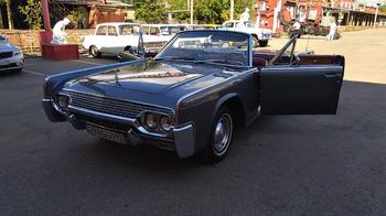 Аренда автомобиля Lincoln Continental  с водителем
