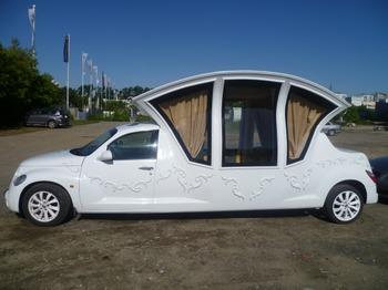 Аренда автомобиля Лимузин Chrysler (карета)  с водителем 1