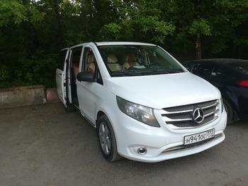 Аренда автомобиля Mercedes Vito  с водителем