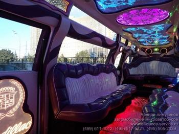 Аренда автомобиля Cadillac Escalade III  с водителем 5
