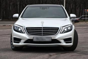 Аренда автомобиля Mercedes S222  с водителем 5