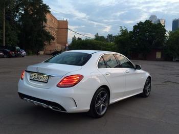 Аренда автомобиля Mercedes-Benz C-klasse IV (W205)  с водителем 2
