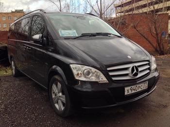 Аренда автомобиля Mercedes-Benz Viano Long с водителем 1