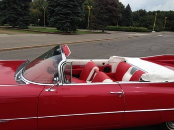 Аренда автомобиля Cadillac Eldorado-59 с водителем 3