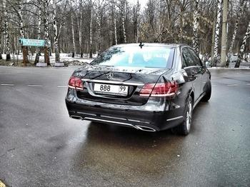 Аренда автомобиля Mercedes  E 212 с водителем 2