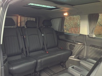 Аренда автомобиля Mercedes-Benz Viano Long с водителем 3