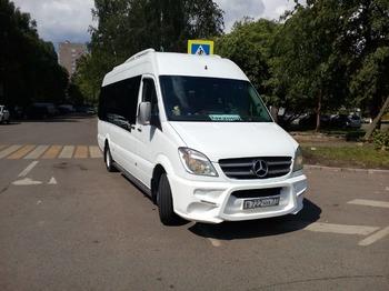 Аренда автомобиля Mercedes Sprinter  с водителем 0