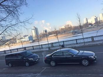 Аренда автомобиля Мерседес V-класс с водителем 6