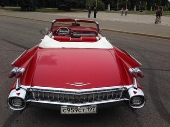 Аренда автомобиля Cadillac Eldorado-59 с водителем 0