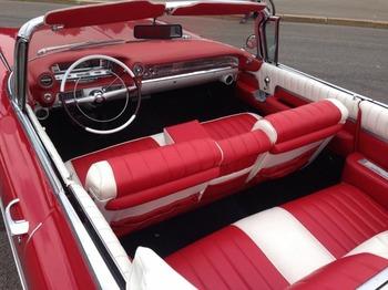 Аренда автомобиля Cadillac Eldorado-59 с водителем 1