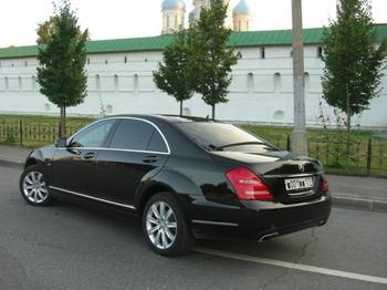 Аренда автомобиля Mercedes-Benz S-class (W221) [320] с водителем 2