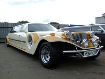 Аренда автомобиля Excalibur Phantom  с водителем