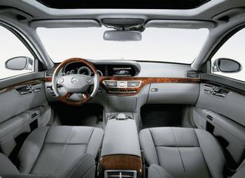 Аренда автомобиля Mercedes  S-class (W221)  с водителем 6