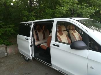 Аренда автомобиля Mercedes Vito  с водителем 5