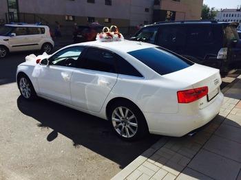 Аренда автомобиля Audi А6  с водителем 1