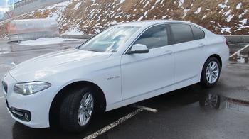 Аренда автомобиля BMW-525  с водителем 2