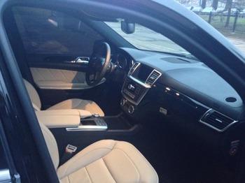 Аренда автомобиля Mercedes GL  с водителем 1