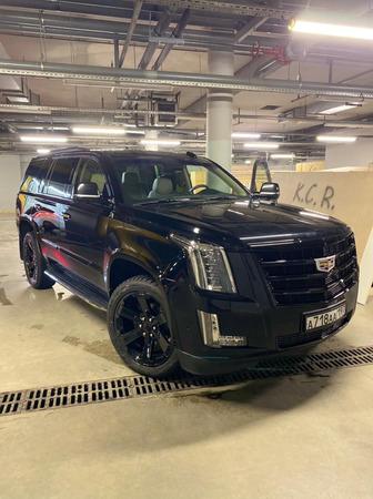 Аренда автомобиля Cadillac Escalade IV с водителем 4