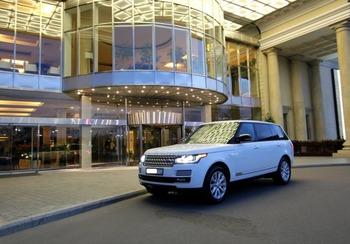 Аренда автомобиля Range Rover Vogue с водителем 0