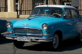 Аренда автомобиля Газ-21 Волга  с водителем 3