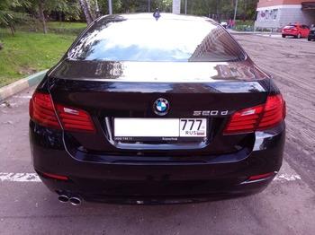 Аренда автомобиля BMW-520  с водителем 4