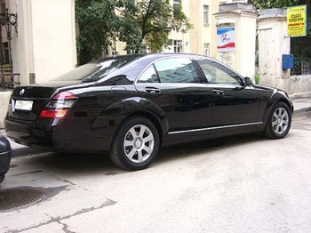 Аренда автомобиля Mercedes  S-class (W221)  с водителем 10