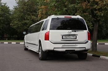 Аренда автомобиля Infiniti QX56  с водителем 3