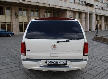 Аренда автомобиля Cadillac Escalade  с водителем 6